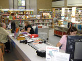 Readers Services Desk at Glenview Public Library