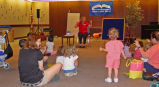 Youth Services toddler time at Glenview Public Library