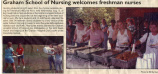 2003.2.Socials.1 Graham Hospital School of Nursing Welcomes Freshman Nurses