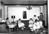 1953.1.3 Graham Hospital School of Nursing Nurses Home Living Room