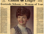1972.2.Community.1 Canton Ledger Woman of the Year
