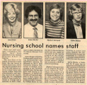 1983.2.Faculty.2 Nursing School Names Staff