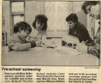 1985.2.Screening.1 Preschool Screening