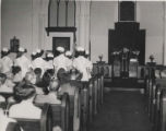 1954.5.5 Graham Hospital School of Nursing Capping Ceremony