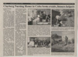 2010.2.Curriculum.1 Clayberg Nursing Home in Cuba hosts events, honor helpers