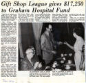 197-.2.Service League.1 Gift Shop League gives $17,250 to Graham Hospital fund