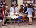 1973.23.7 Graham Hospital School of Nursing career day library tour