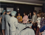 1973.23.13 Graham Hospital School of Nursing career day patient care activity