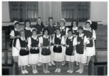 1991.5.1 Graham Hospital School of Nursing capping ceremony