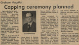 1982.2.Capping.1Graham Hospital School of Nursing  capping ceremony planned