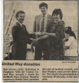 1985.2.Fundraising.1 United Way Donation