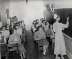 1954.1.5 Graham Hospital School of Nursing 1954 Classroom
