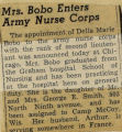 194-.2.Military.58 Mrs. Bobo enters Army Nurse Corps