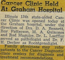 194-.2.Clinic.31 Cancer clinic held at Graham Hospital