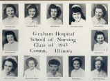 1945.4.2  Graham Hospital School of Nursing Graduation