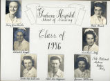 1946.4.1  Graham Hospital School of Nursing  Graduation