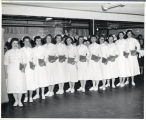 1957.4.3 Graham Hospital School of Nursing Graduation