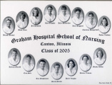 2005.4.1 Graham Hospital School of Nursing graduation class