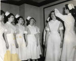 1955.5.7 Graham Hospital School of Nursing Capping of Class of 1957
