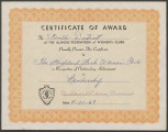 GFWC Award