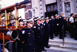 Fire Officers at George Winckler's Funeral