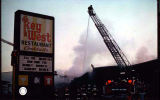 Fire Officers at the Key West Restaurant Fire, Countryside, Illinois