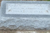 Anna M. Armbruster Grave Marker