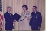 Lt. Colonel and Mrs. Jerome G. Welkom -Legion of Merit 002