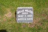 Willie Miller Grave Marker