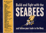 Build and fight with the Seabees and follow your trade in the Navy