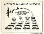 Making America strong: today about 800 American industrial concerns either make airplanes or...