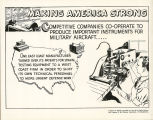 Making America strong: competitive companies co-operate to produce important instruments for...