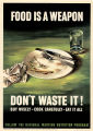 Food is a weapon, don't waste it!: buy wisely--cook carefully--eat it all: follow the National...