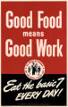 Good food means good work: eat the basic 7 every day!