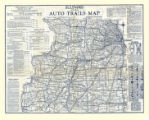 1924 Illinois Road Map
