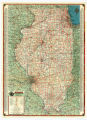 1939-1940 Illinois Road Map