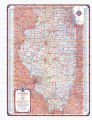 1935 Illinois Official Road Map