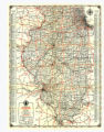 1934 Illinois Road Map