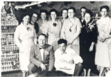 Itasca Basket  opens 1953  Bob Thier Employees Men Women