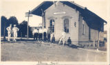 Railroad Depot, Itasca boys