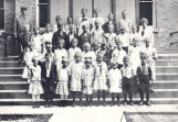 Photo of school children