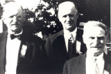 Photo of Edward Schaper, W.F. Droegemueller and Lewis Wolf.