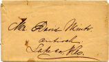 Letter to Mr. Humphrey & Mr. Watson from J.M. Coultis concerning David Minto.  #93.45.408