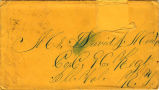Letter to David Minto from Austin Trumbull and Nellie Webb Trumbull.  #93.45.540