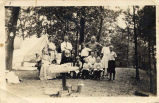 Minto Family Camp Scene on Loon Lake.  93.45.43