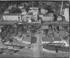 Aerial view of St. John's Hospital
