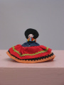 Seminole (Florida) small sewn doll (C. 1970's)