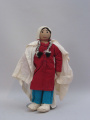 (Unknown People) New Mexico doll in shawl (date unknown)