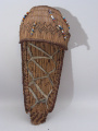 Modoc (Northern California) toy cradleboard (C. Late 19th century)