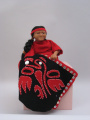 (Unknown people) Northwest Native Doll Late 20th C